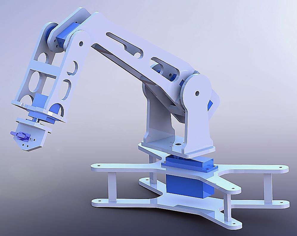 Hydraulic Arm Design : Robotic arm introduction and mechanical design alex ngai